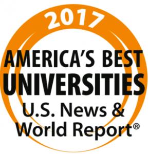 LTU 2017 America's Best Universities - US News