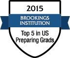 LTU named in Top 5 in US for Preparing Graduates in 2015 by Brookings Institution