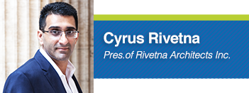 Cyrus Rivetna, Architecture Graduate Student