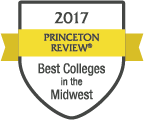 LTU named one of 2017's Best Colleges in the Midwest by Princeton Review