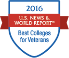 LTU named a 2016 Best College for Veterans by US News & World Report